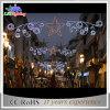 Openlucht Waterdichte leiden van de Decoratie van Kerstmis over het Licht van het Motief van de Straat