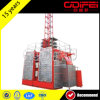 Pequeño elevador de la construcción Sc200