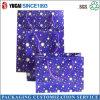 Bolso púrpura de la estrella de papel de regalo cesta de la compra
