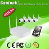1MP imprägniern drahtlosen Systems-Installationssatz der WiFi IP-Kamera-NVR (WiFi9204P100H)