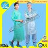 뜨개질을 한 팔목을%s 가진 PP+PE Surgical Gown