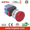 Interruptor do cogumelo do B de Onpow 30mm (LAS0-K30-11MB/R, CE, CCC, RoHS)