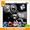 linternas del halo LED del cambio del color 7inch para Harley Davidson