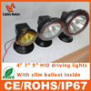 4inch 35With55W H11 HID Work Light, Aluminium Housing Flood Beam Xenon Tractor Working Light