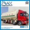 Carro químico del transporte del cemento del tanque de las ruedas a granel secas del carro 12