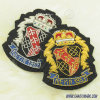 Particularly Custom Metal Wire Embroidery Badge 229