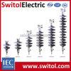 Высоковольтный составной тип линия изоляторы Pin полимера столба для передачи силы электрической