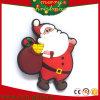 Ímãs de borracha macios Santa do refrigerador dos desenhos animados do Natal do PVC dos presentes da promoção (RC-CR013)