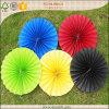 El arco iris colorea la decoración de papel del partido del rosetón del Pinwheel