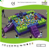 Kaiqi Group Plastic Tangram Blocks avec Ball Pit (KQ50128G)