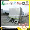 Toalete do reboque da exportação com sistema de água de esgoto de água