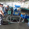 Tubulação de aço ondulada mecânica que faz a máquina