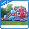 Quality comercial Inflatable Hero Moonwalk para Sale