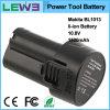Batería sin cuerda de la herramienta del litio
