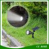 Waterdichte LEIDENE van de Lamp van het Gazon van de tuin de Zonne Lichte Schijnwerpers van de Muur met de Aar van de Grond