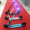 Супер самокат сложенный светом электрический только 11kgs Es-01