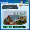 Mattonelle di tetto d'acciaio ondulate rivestite di pietra