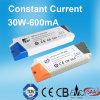 30W 600mAのCB SAAが付いている一定した流れLEDの電源