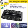 Lumière principale mobile d'araignée de DEL de l'éclairage d'étape (HL-017YT)