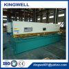 Máquina de corte hidráulica do CNC para a placa de aço (QC12Y-4X4000)