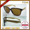 Bambou et Wooden Arm Sunglasses (F5546)