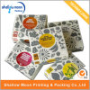 Caja de cartón de empaquetado modificada para requisitos particulares de la impresión barata (QYCI1572)