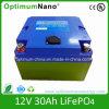 Largo del ciclo de vida de 12V 30Ah litio Batter para almacenamiento de energía