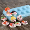 F0686 Cartoon Pig Head Shape Silicone Chocolate Fondant Mold