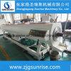 Linha de produção da tubulação do PVC com em linha auto máquina de Belling