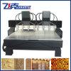 Estaca de madeira do CNC de China e máquina da cinzeladura com 8 cabeças