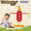 Brinquedos plásticos educacionais dos blocos de apartamentos dos cabritos