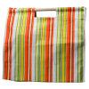 ストリップデザインキャンバス袋の100%年の綿のショッピング・バッグ