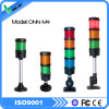 Luz de advertência industrial vermelha do diodo emissor de luz das cores verdes