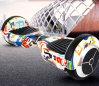 Duas rodas que derivam o trotinette de equilíbrio do auto esperto elétrico