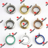 도매 25mm Stainless Steel Magnets Glass Floats Story Lockets (LDD60128)