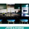 Muebles clásicos de las cabinas de cocina de la melamina del estilo (AIS-K177)