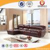 贅沢な居間の家具のGeniuneの革角のソファー(UL-B1609)