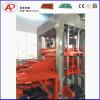 Máquina de fabricación de ladrillo automática hidráulica de capacidad media de China