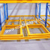 Spingere indietro Racking Selective Pallet Racking Warehouse Rack con Rail e Pallet System