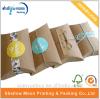 Rectángulo de papel de empaquetado modificado para requisitos particulares de la almohadilla del papel de Kraft con la etiqueta engomada (QYCI15202)