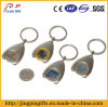 Supermercato Metal Key Chain con Tokens