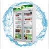 Refrigerador comercial da cerveja da porta de vidro dobro