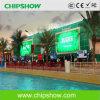 La publicité extérieure polychrome de mur de Chipshow P10 RVB DEL
