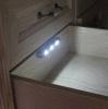건전지 무선 LED 가벼운 서랍 감응작용 램프 가슴 센서 램프