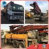 37m 8*4-LHD-Drive Used Concreto-Delivery Originale-Paint Concrete Isuzu-Chassis Putzmeister Pump Truck