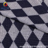 100%Polyester Diamond Pattern Coarse Needle Knitted Fabric