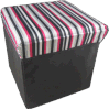 Сатинировка с Stripe Printing Foldable Storage Stool