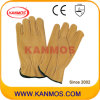 Sécurité industrielle Gants vache Grain Leather pilote de travail (12201)
