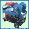 Nettoyeur de pipe à haute pression de jet d'eau de matériel de nettoyage d'eaux d'égout d'engine d'essence