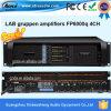 Amplificateur de puissance audio de canaux de l'usine Fp6000q 4 de Guangzhou Xinbaosheng